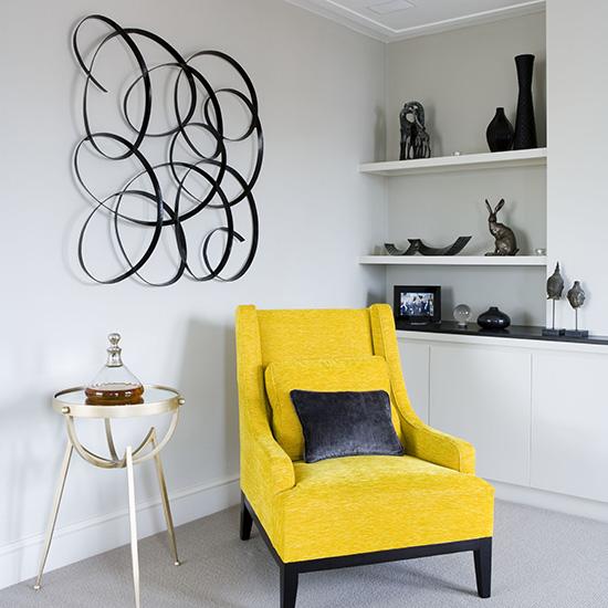 Poltronas decorativas para salas