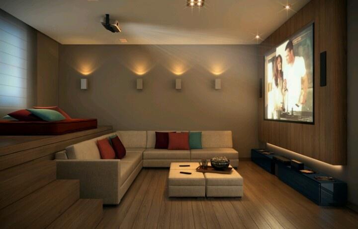 Sala de cinema em casa veja dicas incr veis para montar for Salas de television modernas