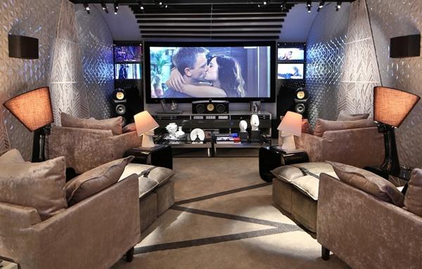 Sala de cinema em casa – Veja dicas incríveis para montar seu cinema em casa!