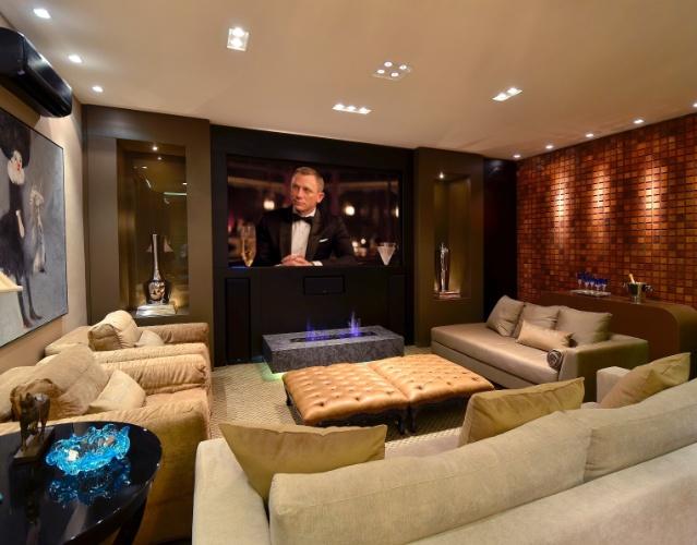 Sala de cinema em casa entenda antes arquitetura - Sala cinema in casa ...
