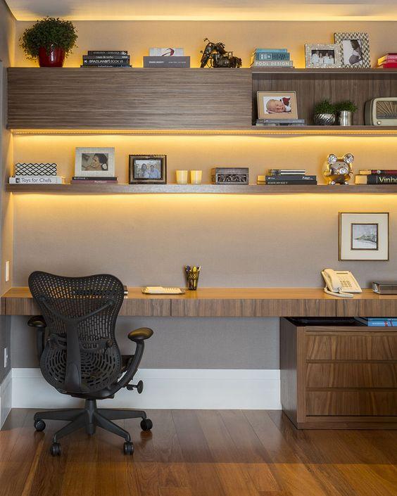 Home office veja dicas para montar um lindo e funcional - Escritorios modernos para casa ...