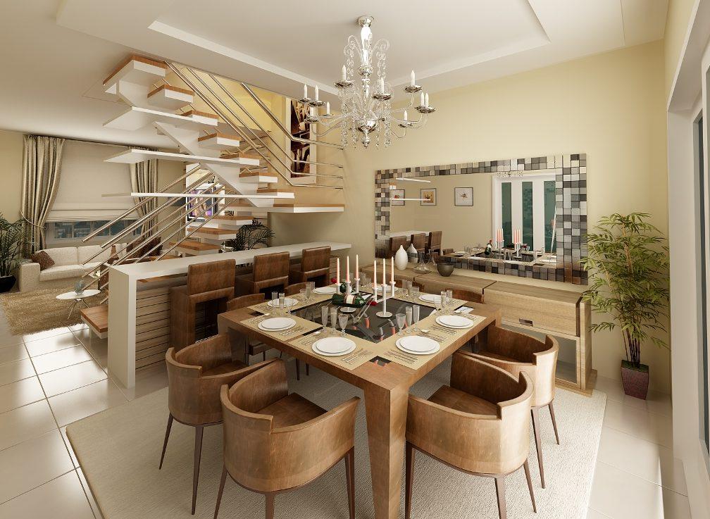 Decora o em sala de jantar dicas para ter uma bela sala for Decoracao de sala de estar 2018