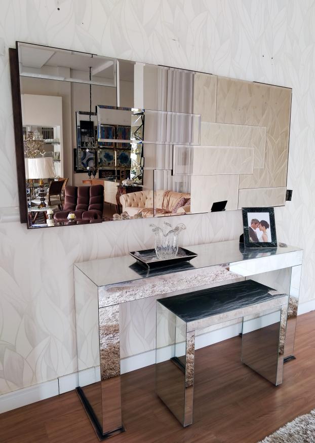 Aparador No Final Do Corredor ~ Decoraç u00e3o com espelhos 8 modelos exclusivos para decorar sua casa!