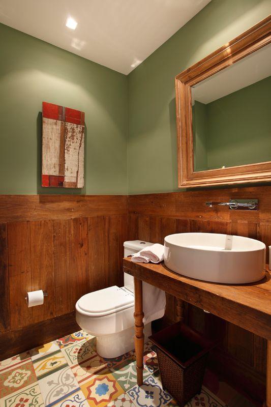 decoracao-tons-de-madeira-e-verde