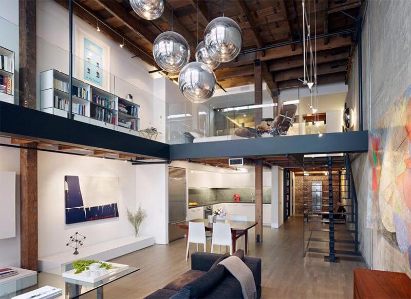 estilo-industrial-na-decoracao-entenda antes, estilo de decoração, sala com estilo de decoração industrial
