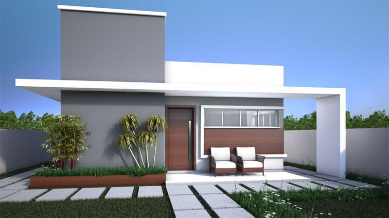 Estilo de decoracao fachada moderna 03 entenda antes for Fachada de casas modernas estilo oriental