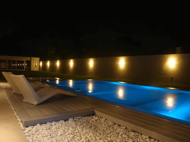 deck de pvc para piscinas area de lazer