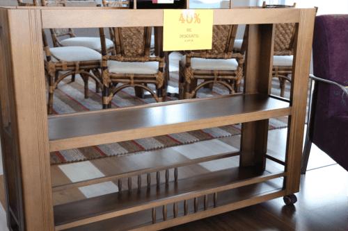 aparador em madeira em promoção - NovoPiso Interiores