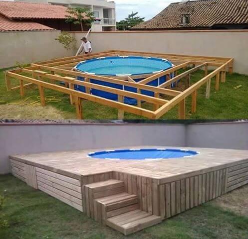 Piscinas elevadas piscinas projeto de piscinas entenda Piscinas sobreelevadas