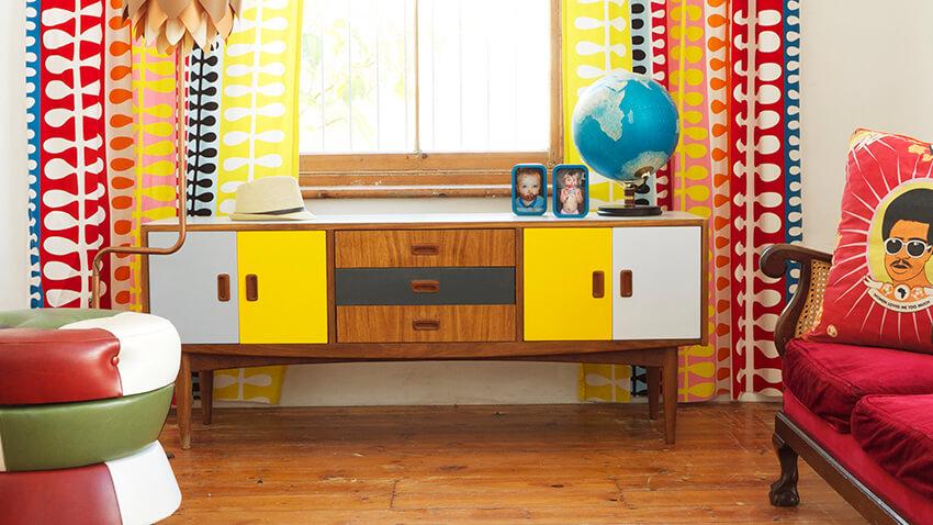 aparador com estilo de Decoração retro - estilo de decoração para quem gosta do estilo retro decor