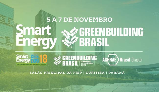 9ª GreenBuilding Conferência&Expo | 05 à 07 de Novembro de 2018