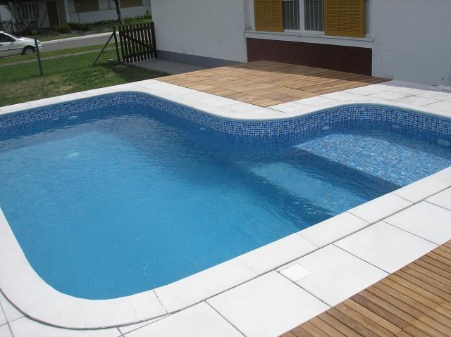 Tipos de piscinas - piscina de concreto
