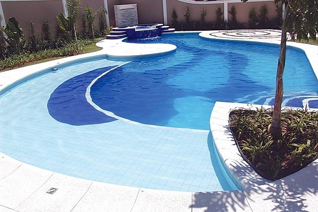 Tipos de piscina - piscina de concreto