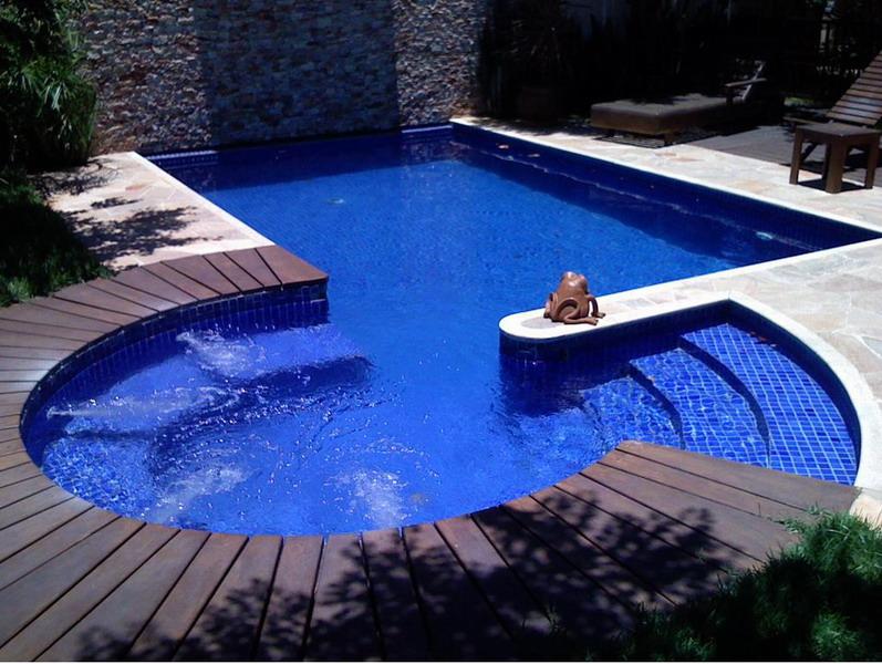 Modelo de piscina de vini