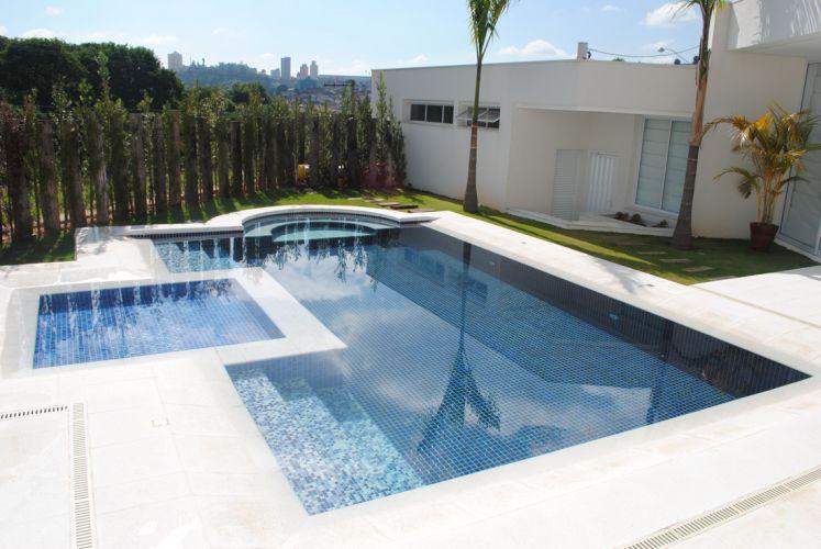 tipos de piscinas - piscina em concreto