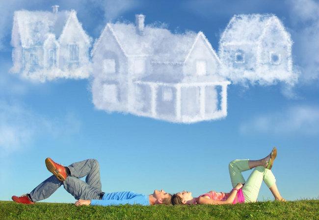 sonho da casa própria