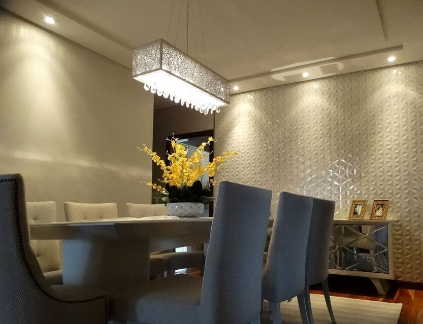 Gesso 3D - Sala de Jantar