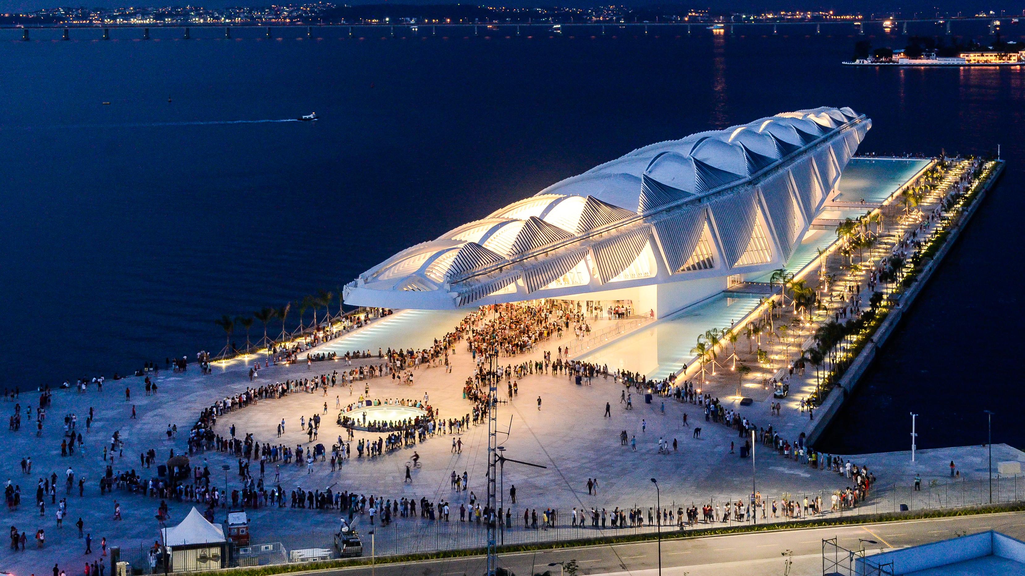 museu-do-amanhã - arquiteto - santiago calatrava