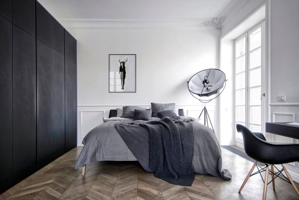 quarto decoração minimalista - quartos com estilo minimalista