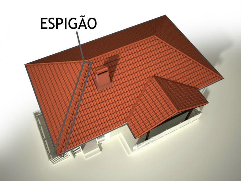 telhado espigão - entenda antes