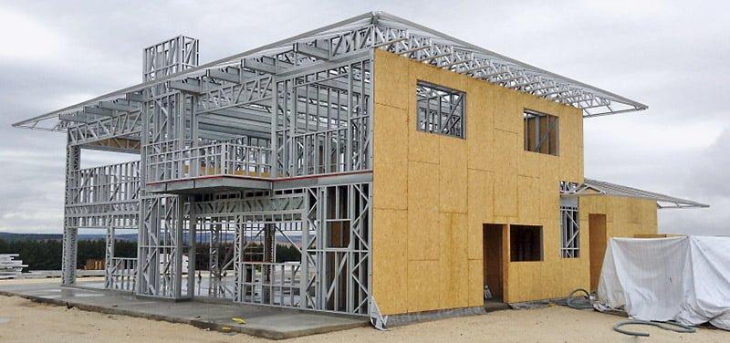 Revestimento externo para construções em sistema Steel Frame