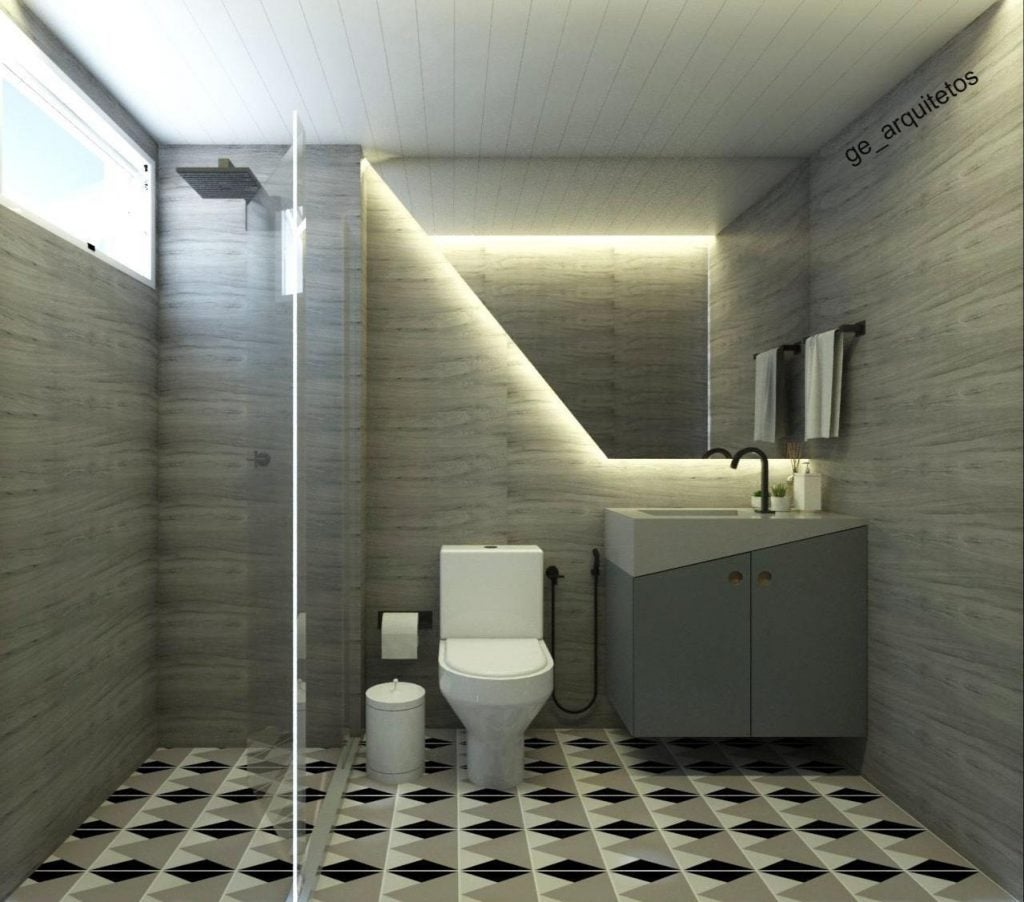 Como combinar piso e revestimento