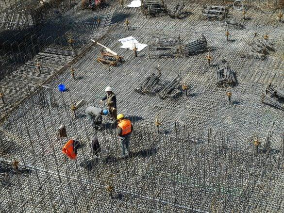 Canteiro de obras - Retorno investimento na construção civil