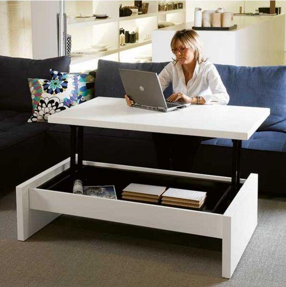 Móveis multifuncionais para apartamentos pequenos - Entenda Antes