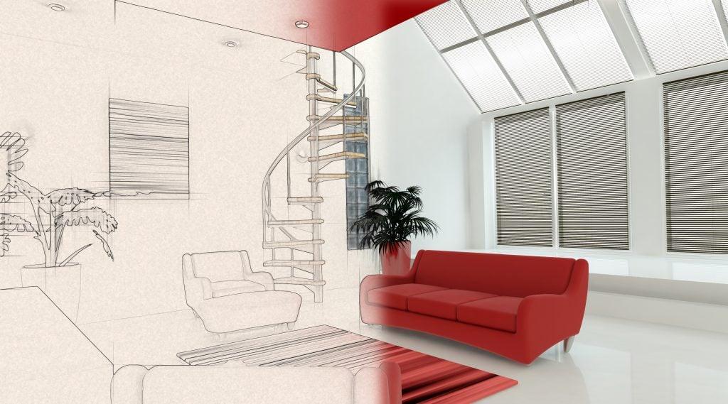 Projetos para construção - Projeto de Interiores
