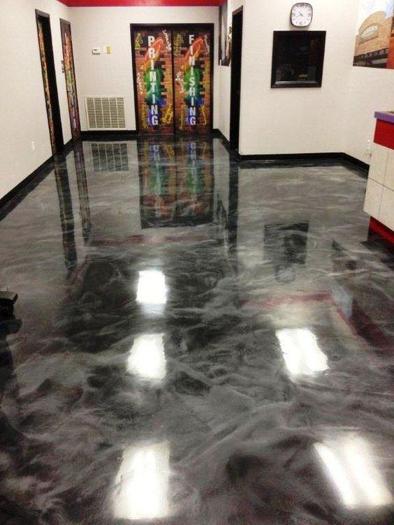 é uma imagem de piso de porcelanato líquido