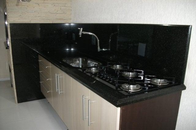 cozinha com granito são gabriel