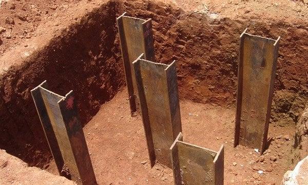 Tipos de fundações (estacas metálicas) - Entenda Antes