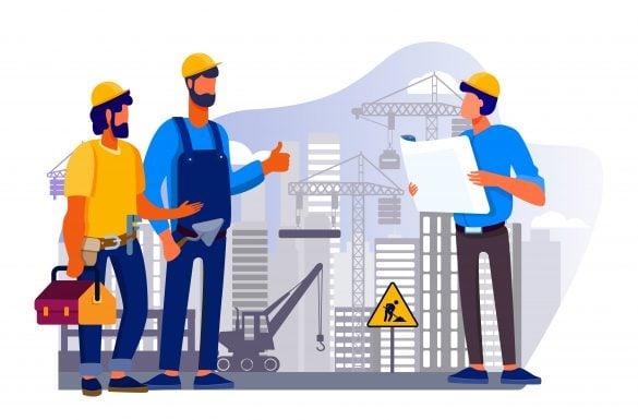 Profissionais para construção - Entenda Antes