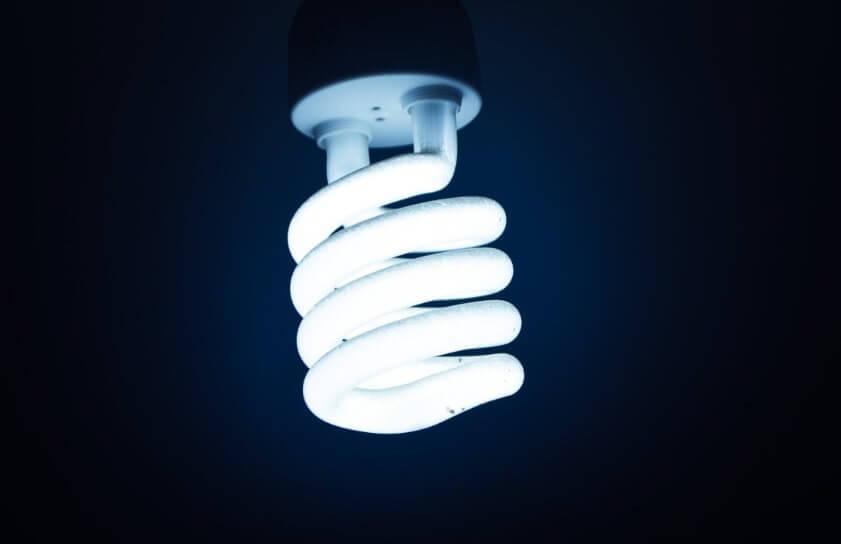 lâmpada - construção sustentável