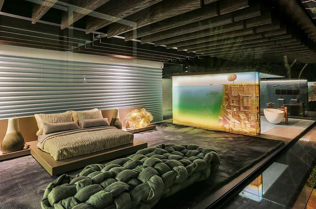 A casa da Sissi é um projeto de Brunete Fraccaroi e apresentado na Casa Cor.