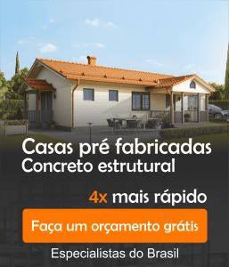 Casas Pré Fabricadas em Concreto Estrutural
