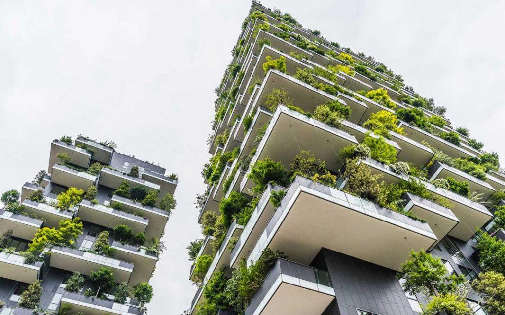 construção sustentável - prédios verdes