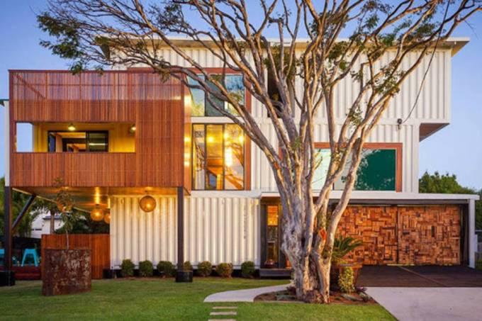 containers - construção sustentável