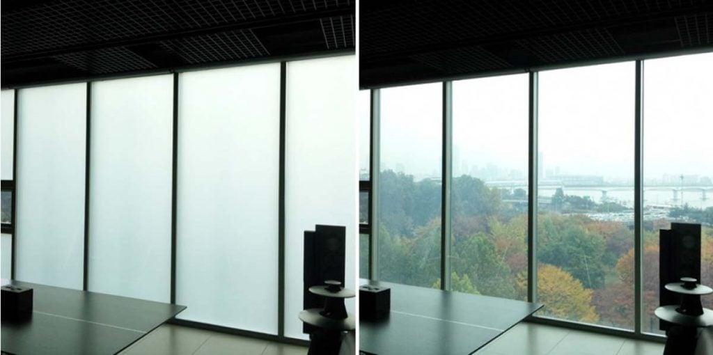 vidro inteligente - construção sustentável