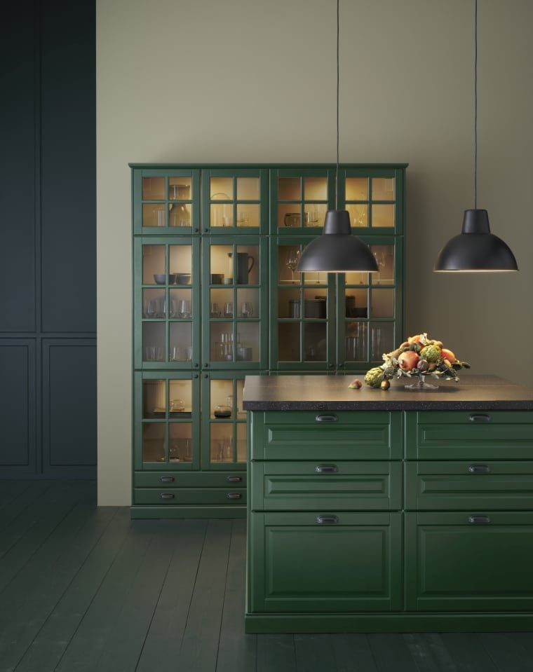 Tendências de decoração - Cozinha monocromática