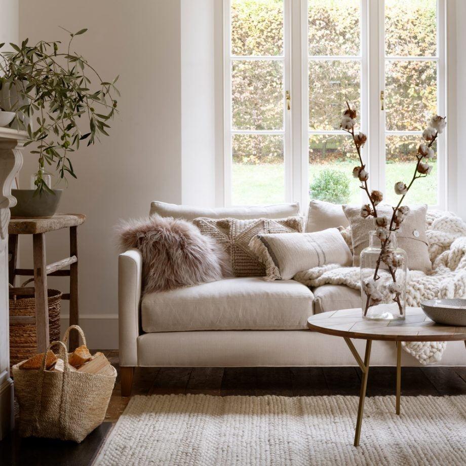Tendências de decoração - paleta suave