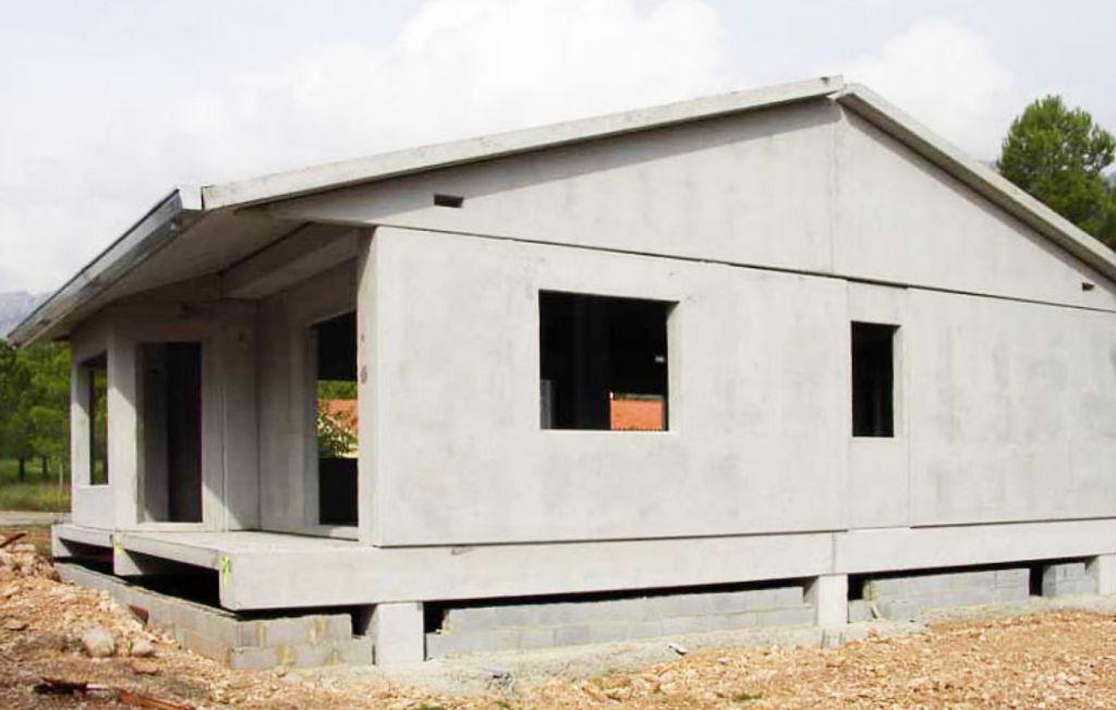 casas pré-fabricadas - concreto