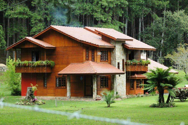 vantagens das casas pré-fabricadas - casa de madeira