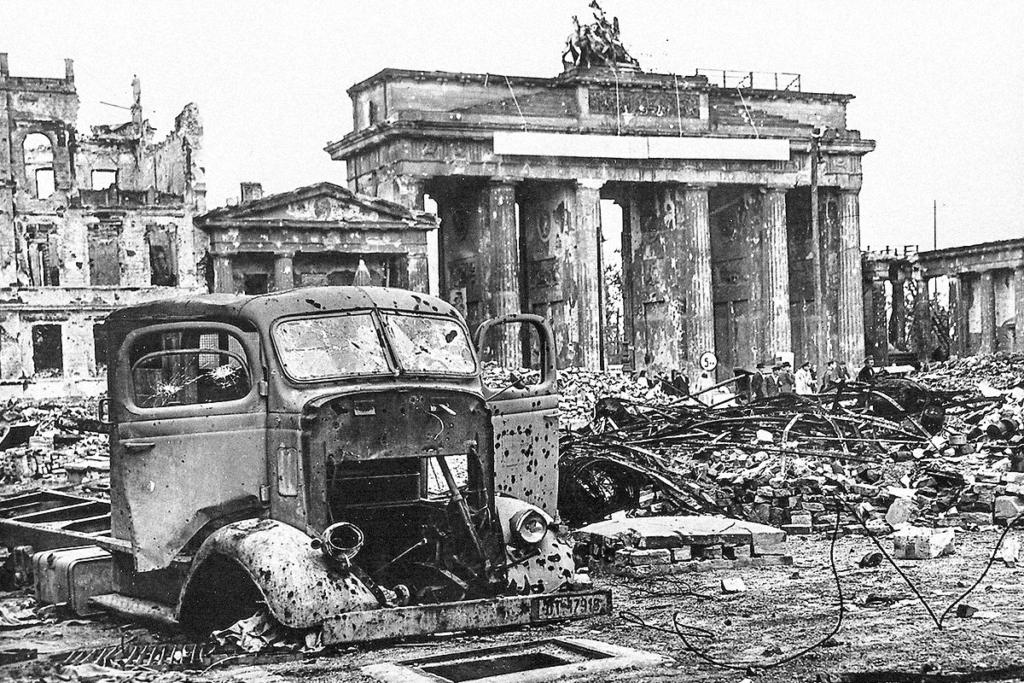 Os destroços de guerra