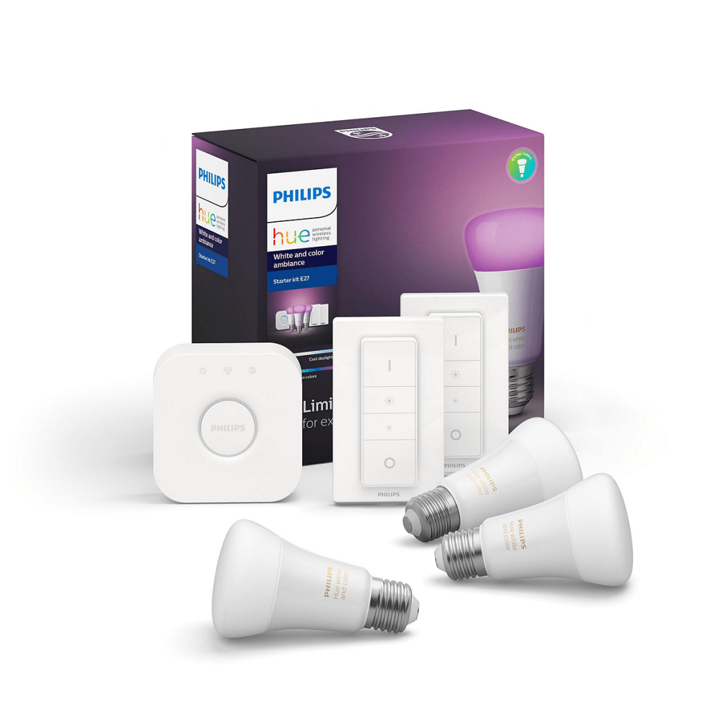 Luz inteligente: Philips Hue E27