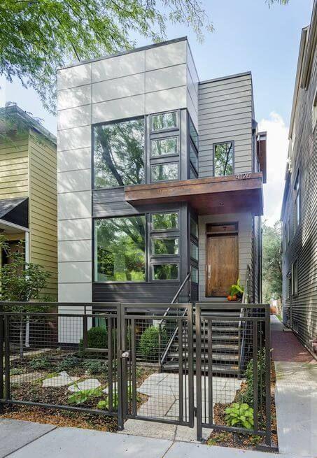 casas pré-fabricadas em concreto sobrado