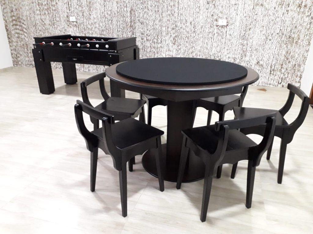 Mesas para área de lazer: carteado ou poker