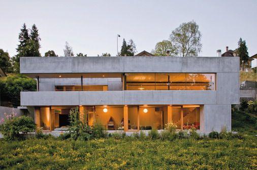 Casas pré-fabricadas em concreto