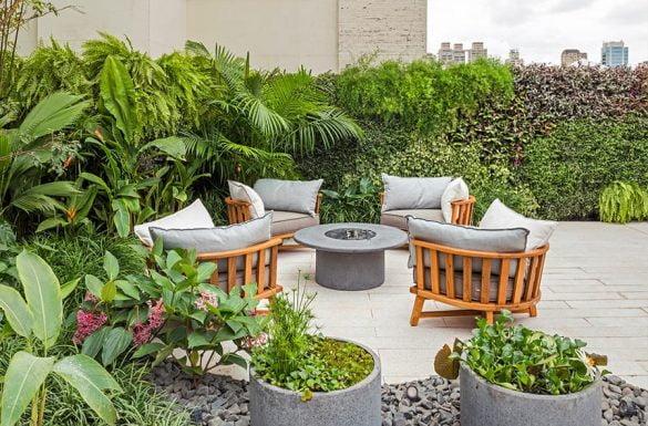 como não errada na hora de escolher os móveis de jardim?