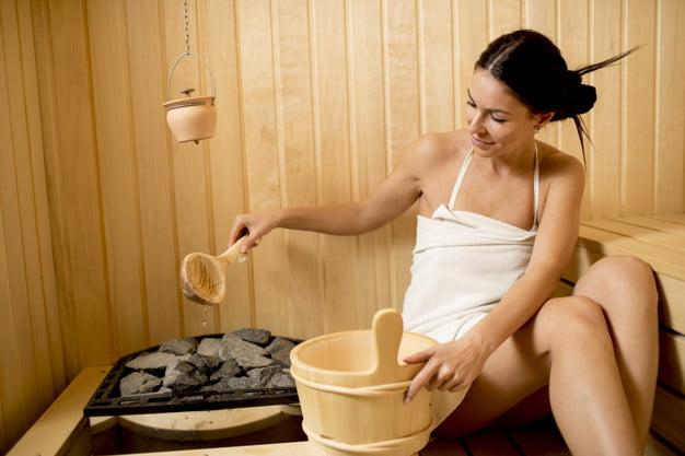 Como funcionam as saunas a vapor?